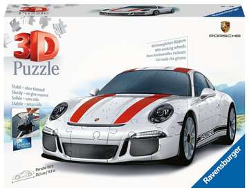 Ravensburger Porsche 911 108 piece 3D Jigsaw Puzzle for Kids age 8 years and up. Ideal Porsche Gifts 3D Puzzle®;Former - Billede 1 - Ravensburger