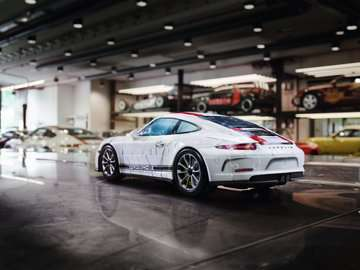 Porsche 911 3D Puzzle, 108pc 3D Puzzle®;Former - Billede 5 - Ravensburger