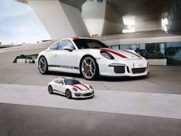 Porsche 911 3D Puzzle, 108pc 3D Puzzle®;Former - Billede 6 - Ravensburger