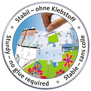 Puzzle 3D Combi T1 Volkswagen - Hippie Style Puzzle 3D;Puzzles 3D Objets iconiques - Image 3 - Ravensburger