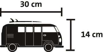 Puzzle 3D Combi T1 Volkswagen - Hippie Style Puzzle 3D;Puzzles 3D Objets iconiques - Image 4 - Ravensburger