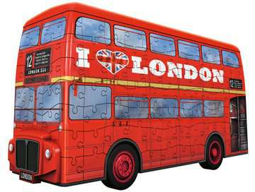 London Bus 3D Puzzle, 216pc 3D Puzzle®;Shaped 3D Puzzle® - image 3 - Ravensburger