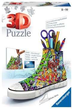 12535 3D Puzzle-Organizer Sneaker - Graffiti Style von Ravensburger 1