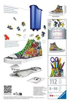 3D Sneaker - Graffiti 3D puzzels;Puzzle 3D Spéciaux - Image 2 - Ravensburger