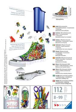 12535 3D Puzzle-Organizer Sneaker - Graffiti Style von Ravensburger 2