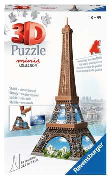 12536 3D Puzzle-Bauwerke Mini Eiffelturm von Ravensburger 1