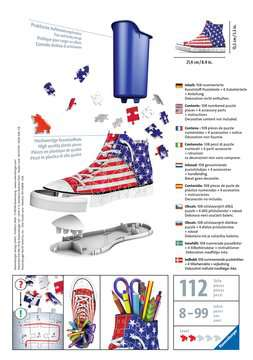 Sneaker American Flag 3D Puzzle;3D Forme Speciali - immagine 2 - Ravensburger