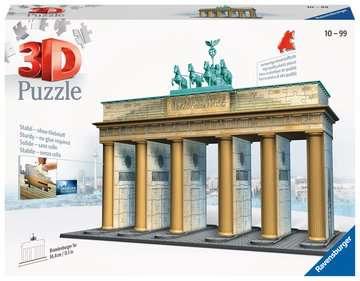 12551 3D Puzzle-Bauwerke Brandenburger Tor von Ravensburger 1