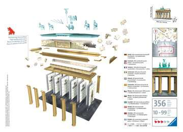 Brandenburger Tor 3D Puzzle;3D Puzzle-Bauwerke - Bild 2 - Ravensburger