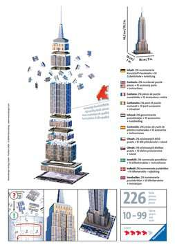 Puzzle 3D Empire State Building Puzzle 3D;Puzzles 3D Objets iconiques - Image 2 - Ravensburger