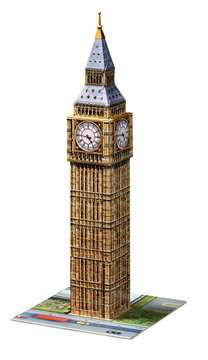 Big Ben 3D Puzzle, 216pc 3D Puzzle®;Buildings 3D Puzzle® - image 3 - Ravensburger