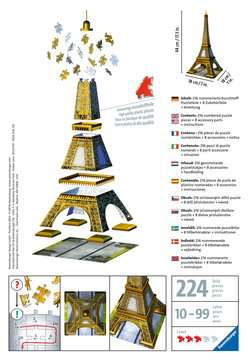 Eiffel Tower 3D Puzzles;3D Puzzle Buildings - image 2 - Ravensburger