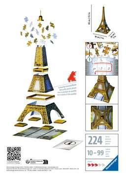 Puzzle 3D Tour Eiffel Puzzle 3D;Puzzles 3D Objets iconiques - Image 2 - Ravensburger