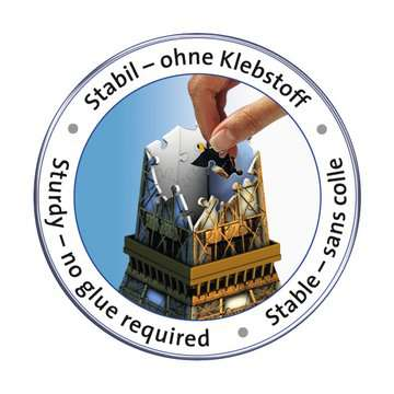 Puzzle 3D Tour Eiffel Puzzle 3D;Puzzles 3D Objets iconiques - Image 4 - Ravensburger