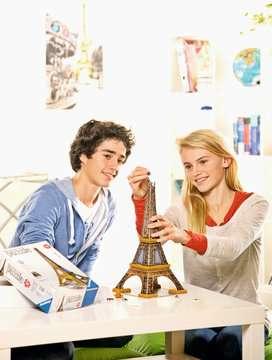 Puzzle 3D Tour Eiffel Puzzle 3D;Puzzles 3D Objets iconiques - Image 5 - Ravensburger