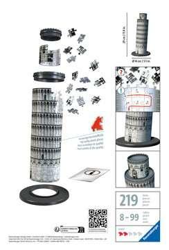 Leaning Tower of Pisa 3D Puzzle, 216pc 3D Puzzle®;Bygninger - Billede 2 - Ravensburger