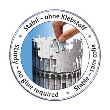 Leaning Tower of Pisa 3D Puzzle®;Bygninger - Billede 6 - Ravensburger