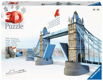 Puzzle 3D Tower Bridge Puzzle 3D;Puzzles 3D Objets iconiques - Image 1 - Ravensburger