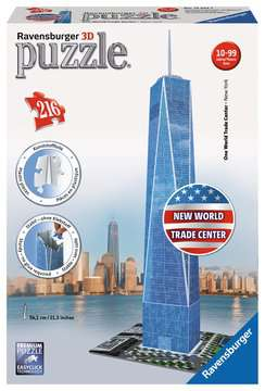 One World Trade Center  Puzzles 3D;Monuments puzzle 3D - Image 1 - Ravensburger