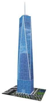 One World Trade Center  Puzzles 3D;Monuments puzzle 3D - Image 3 - Ravensburger