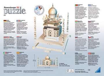 Taj Mahal, 216 dílků 3D Puzzle;Budovy - obrázek 2 - Ravensburger