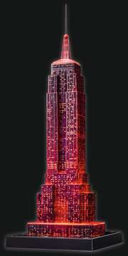 Empire State Building at Night 3D Puzzles;3D Puzzle Buildings - image 13 - Ravensburger