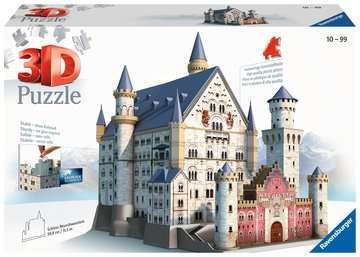 Neuschwanstein Castle 3D Puzzles;3D Puzzle Buildings - image 1 - Ravensburger