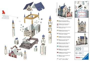 Neuschwanstein Castle 3D Puzzle 3D Puzzle®;Bygninger - Billede 2 - Ravensburger