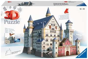Schloss Neuschwanstein 3D Puzzle;3D Puzzle-Bauwerke - Bild 2 - Ravensburger