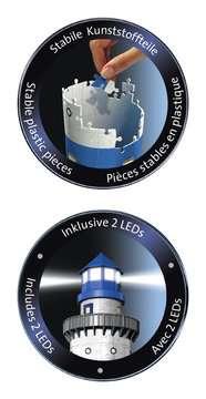Puzzle 3D Phare illuminé Puzzle 3D;Puzzles 3D Objets iconiques - Image 4 - Ravensburger