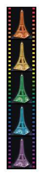 Eiffel Tower 3D Puzzle by Night 3D Puzzle®;Natudgave - Billede 5 - Ravensburger