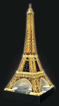 Eiffel Tower by Night 3D Puzzles;3D Puzzle Buildings - image 7 - Ravensburger