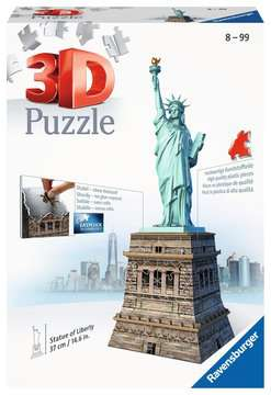 Statue of Liberty 3D Puzzles;3D Puzzle Buildings - image 1 - Ravensburger