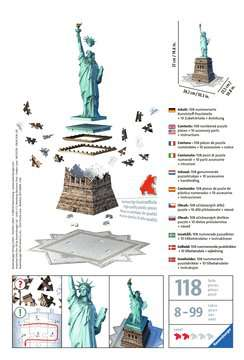 Puzzle 3D Statue de la Liberté Puzzle 3D;Puzzles 3D Objets iconiques - Image 2 - Ravensburger