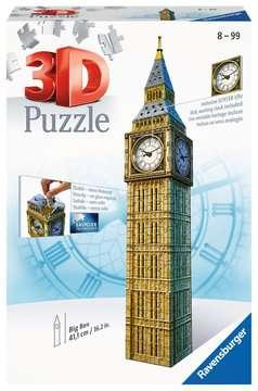 Big Ben mit Uhr 3D Puzzle;3D Puzzle-Bauwerke - Bild 1 - Ravensburger