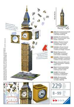Big Ben Clock 3D Puzzles;3D Puzzle Buildings - image 2 - Ravensburger