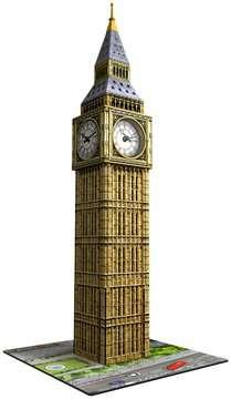 Big Ben mit Uhr 3D Puzzle;3D Puzzle-Bauwerke - Bild 3 - Ravensburger