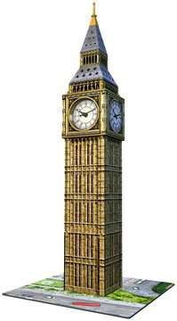 Big Ben 3D Puzzle, with Clock, 216pc 3D Puzzle®;Bygninger - Billede 4 - Ravensburger