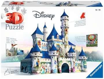 Disney kasteel 3D puzzels;3D Puzzle Gebouwen - image 1 - Ravensburger