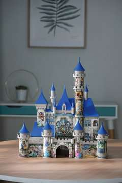 Disney Castle 3D Puzzle® 3D Puzzle®;Bygninger - Billede 4 - Ravensburger