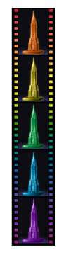 Chrysler Building Night Edition 3D Puzzle;3D Puzzle - Building Night Edition - immagine 4 - Ravensburger