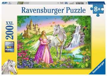 Prinzessin mit Pferd Puzzle;Kinderpuzzle - Bild 1 - Ravensburger
