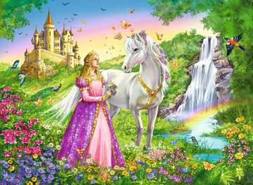 Prinzessin mit Pferd Puzzle;Kinderpuzzle - Bild 2 - Ravensburger