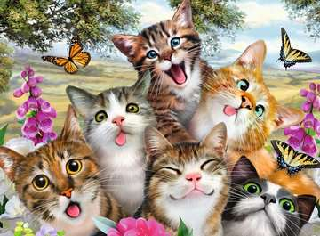 Lustige Katzen Puzzle;Kinderpuzzle - Bild 2 - Ravensburger