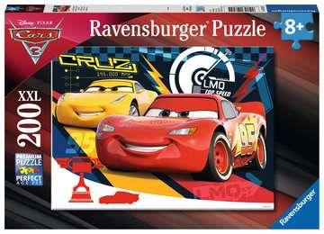 12625 Kinderpuzzle Quietschende Reifen von Ravensburger 1