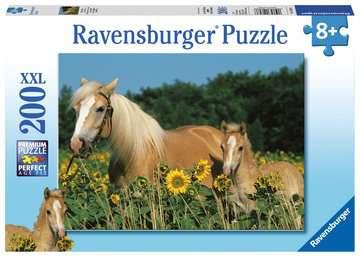 SZCZĘŚCIE KONI 200EL. Puzzle;Puzzle dla dzieci - Zdjęcie 1 - Ravensburger