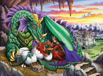 Queen of Dragons Jigsaw Puzzles;Children s Puzzles - image 2 - Ravensburger