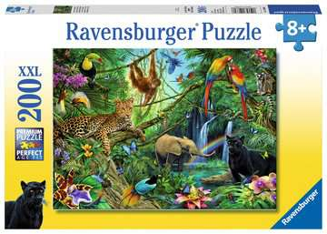 12660 Kinderpuzzle Tiere im Dschungel von Ravensburger 1