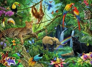 12660 Kinderpuzzle Tiere im Dschungel von Ravensburger 2
