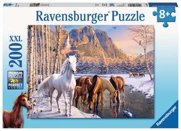 Winter Horses XXL 200pc Puzzles;Children s Puzzles - image 1 - Ravensburger